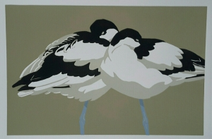 Avocet Rest 280 mm x 185 mm edition of 20