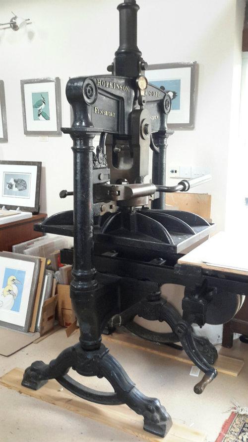 Hopkinson and Cope Albion Press 1884